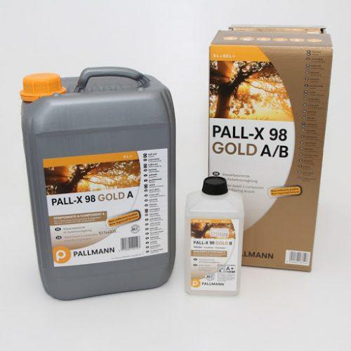 паркетный лак преміум класу PALL-X 98 GOLD GLOSS